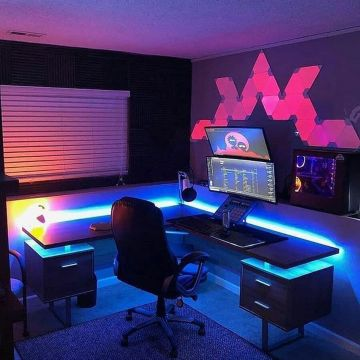 Check Out Full Collection ☼ Via Instagram #Ps4 Gaming Setup #Dream Rooms #Gaming Setup Xbox
