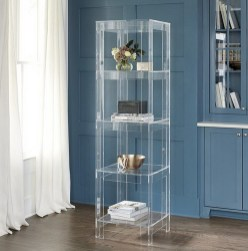Contemporary, yet timeless. Our chic Felicity Acrylic strikes the perfect balance between form and function