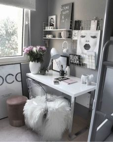 Cozy Home Office Ideas For Girls That Will 1 - Isabellestyle.com