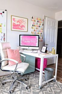 Decorating A Shared Home Office - Tidymom.net