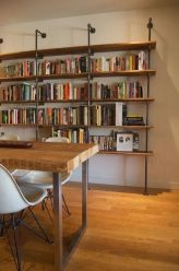 Diy Bookshelf Projects You Can Make In A Room ⊶ Via Bobvila #BookStorage