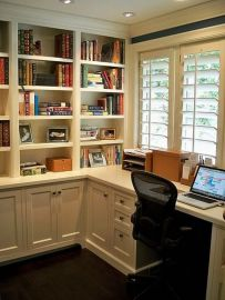 Finest Office Built In Cabinets - Decorch.us