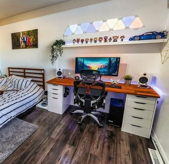 Gamingsetup Gamingpc Check Out Full Collection ☼ Via Instagram #Gaming Room Setup #Quarto Gamer #Playstation Room #xbox Room