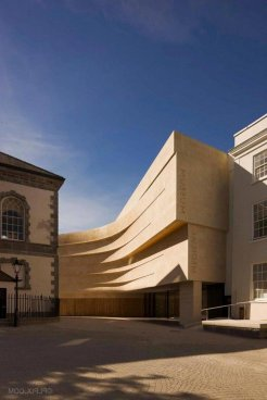 Medieval Museum In Waterford Waterford City ⊶ Via Archdaily #FacadeDesign