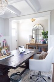 ORC Dining Room Office Reveal - Thehomeicreate.com