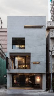 Q Pot Hair Salon And Residence In Kaohsiung ⊶ Via Yatzer #FacadeArchitecture