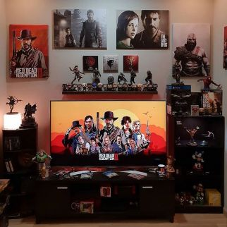 Red Dead Redemption The Game Of The Year ☼ Via Instagram #Gaming Room Setup #Quarto Gamer #Playstation Room #xbox Room
