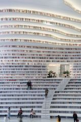 Room Tianjin Binhai Library Located Outside Book ⊶ Via Imgur #BookshelfIdeas