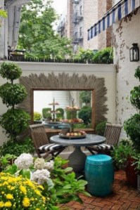 Small Patio Ideas For Small Garden Decor ☼ Via Mehouz