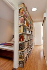 Small Space Secrets Ways To Make The Most ⊶ Via Apartmenttherapy #BookStorage