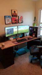 The Best Gaming Setup For Amazing Rooms ☼ Via Hoomdecoration #Gaming Room Setup