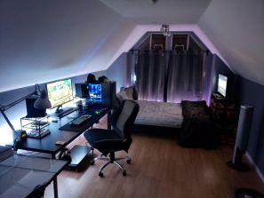 The Best Gaming Setup For Amazing Rooms ☼ Via Hoomdecoration #Ps4 Gaming Setup #Dream Rooms #Gaming Setup Xbox