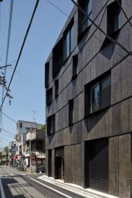 The Exterior Slabs Are Imprinted With Flakes ⊶ Via Dezeen #FacadeArchitecture
