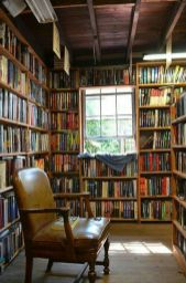 The Reading Nook ⊶ Via The-reading-nook #DreamLibrary