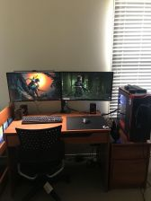 Where I Spend Most Of My Time Dying ☼ Via Reddit #Gaming Room Setup #Quarto Gamer #Playstation Room #xbox Room