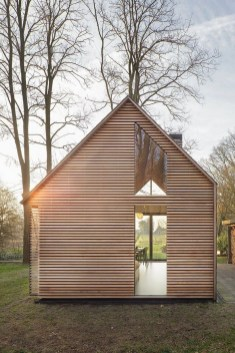 Wood Facade In The Netherlands - Via Interiordub