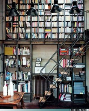 Your Daily Bookcase Stairway To Heaven ⊶ Via Cheezburger #DreamLibrary