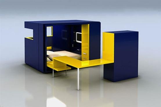 Habitaciones modulares de diseo  Interiores