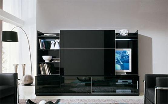 Un mueble para la Tv 3 estilos diferentes  Interiores