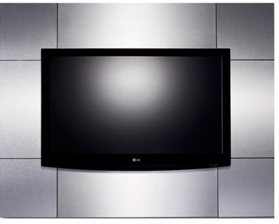 Muebles para montar la TV en la pared con estilo  Interiores