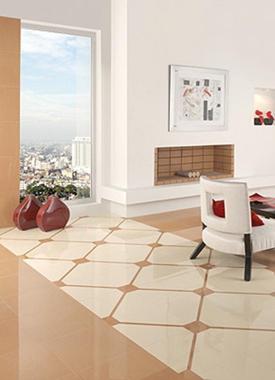Decorados integrados en pisos  Interiores
