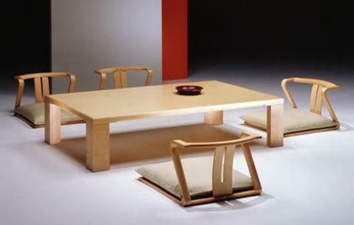Sillas para el comedor al estilo japons  Interiores