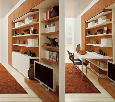 Ideas inteligentes para decorar casas pequeas  Interiores