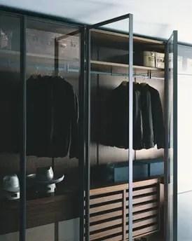 Closets de diseo italiano para los hombres de la casa