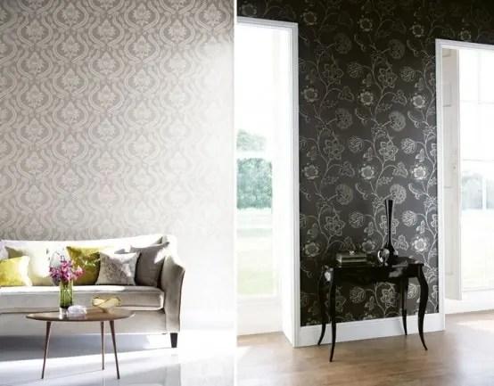 Decora tus paredes con papel tapiz de diseo contemporneo