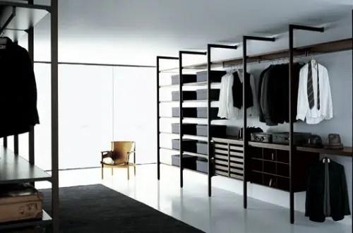 Closets de diseo italiano para los hombres de la casa  Interiores