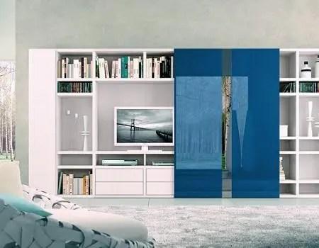 Muebles modulares para la TV  Interiores