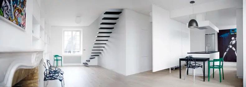 departamento duplex minimalista 03  Interiores