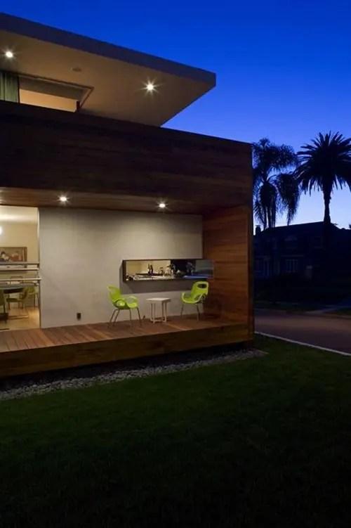 Casa de estilo Californiano Construida para la vida al aire libre  Interiores