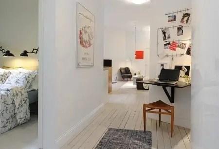 Un departamento pequeo con estilo nrdico  Interiores