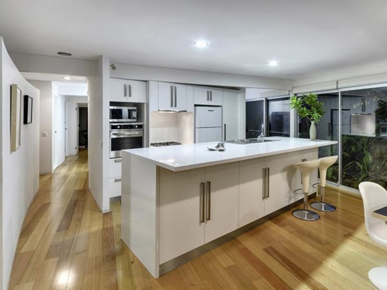 Residencia en Australia con transparencias estilo