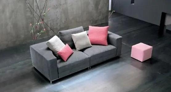Nesting un Sof Cama de diseo redondo  Interiores