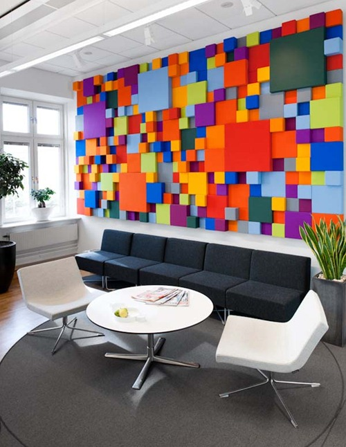 Diseo de Interiores en Oficina en Suecia  Interiores