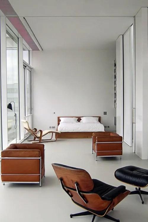 Apartamento Minimalista con Jardn en la Azotea  Interiores