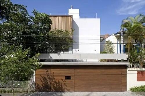 Diseo de Casa Vertical en Brasil  Interiores