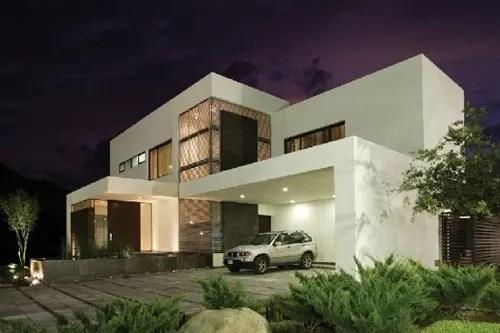 Residencia Moderna con un diseo en Mxico Casa del Tec