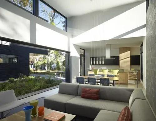 Casa Moderna con vista a la baha y patio privado  Interiores