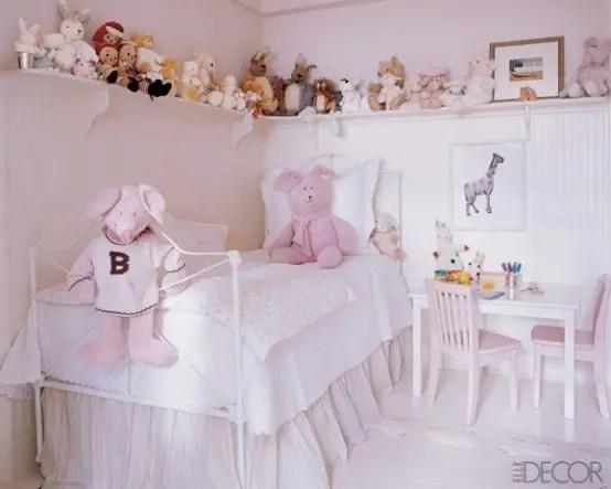 33 Grandiosas ideas para decorar el cuarto de las nias