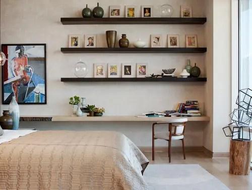 10 hermosas ideas para poner tus repisas flotantes  Interiores