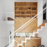 21 ideas escaleras de madera 15