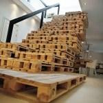 21 ideas escaleras de madera 19