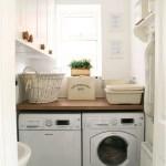 36 ideas para decorar y organizar tu cuarto de lavado - 09