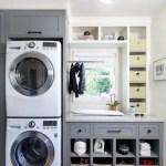 36 ideas para decorar y organizar tu cuarto de lavado - 15