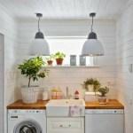 36 ideas para decorar y organizar tu cuarto de lavado - 29