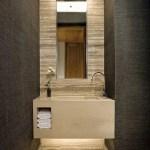 44 ideas para decorar y organizar baños pequeños (24)