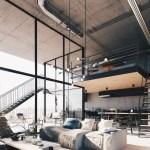 28 ideas de decoración para lograr un hogar con estilo industrial (17)